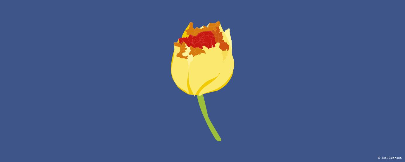 Nouveau périmètre d'intervention EPAMARNE/EPAFRANCE - Logo 2016 : La Tulipe EPAMARNE/EPAFRANCE