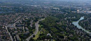 Photographie aérienne de la VDO (Chennevières-sur-Marne et Ormesson-sur-Marne)
