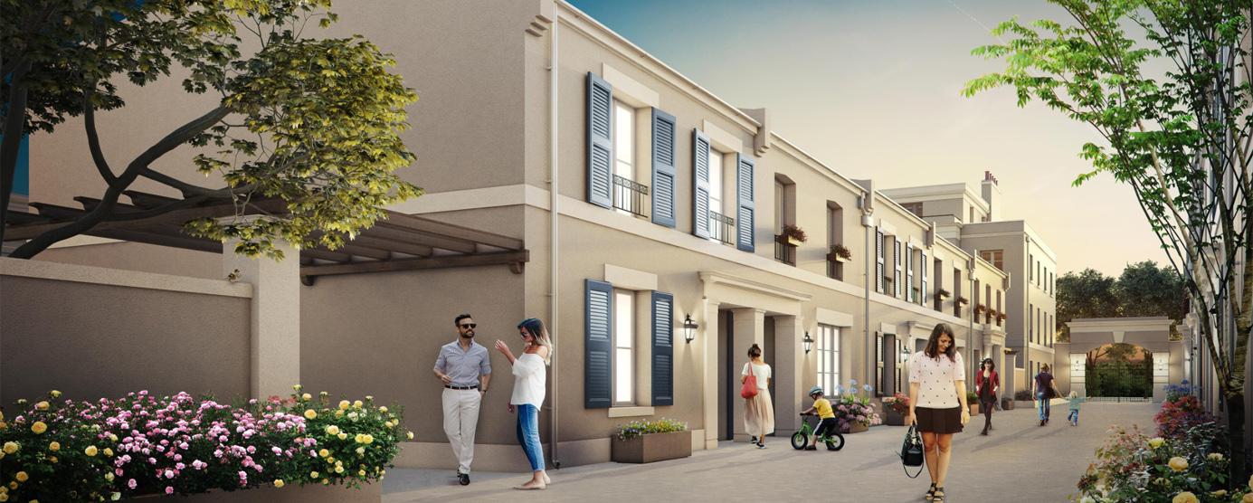 Modélisation du programme de logements Victoria Park à Serris