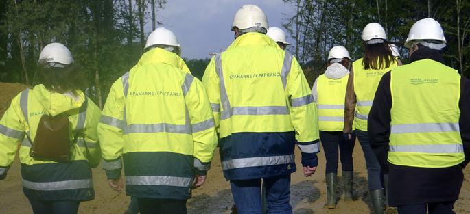 Epamarne - Epafrance : chantier