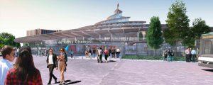 Modélisation de la nouvelle gare du Grand Paris Express de Noisy-Champs à la Cité Descartes