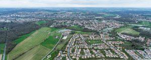 Montévrain : secteur Bourg - les Corbins - lisière de l'écoquartier