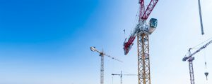 Grue de chantier à Marne-la-Vallée