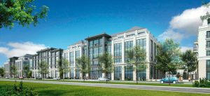Programme de bureaux 22 300 m² en 3 tranches, dans le Centre Urbain du Val d'Europe à Chessy,