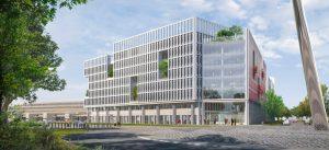 Modélisation du programme tertaire bureaux et hôtel à la Cité Descartes