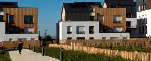 Ecoquartier de Montévrain : programme de logements urbanature (lot F4)