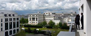 Immeubles de bureaux dans le quartier d'affaires du Val d'Europe