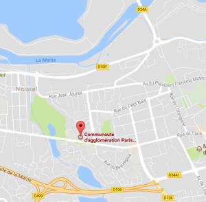 Carte Google Maps de Torcy