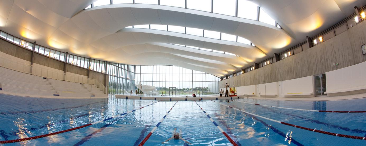 Centre aquatique du Val d'Europe à Bailly-Romainvilliers
