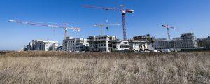 Chantier de la ZAC des Studios et des Congrès : chantier de logements