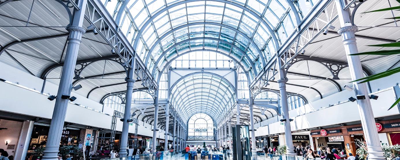 Hall du centre commercial du Val d'Europe