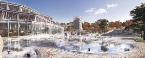 Modélisation des bassins de Villages Nature Paris à Villeuneuve-le-Comte