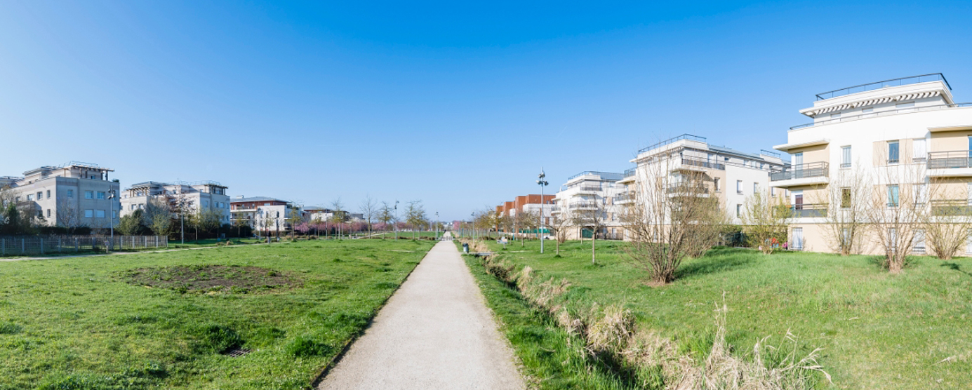 Ecoquartier de Montévrain - Val d'Europe : Le Parc du Mont Evrin