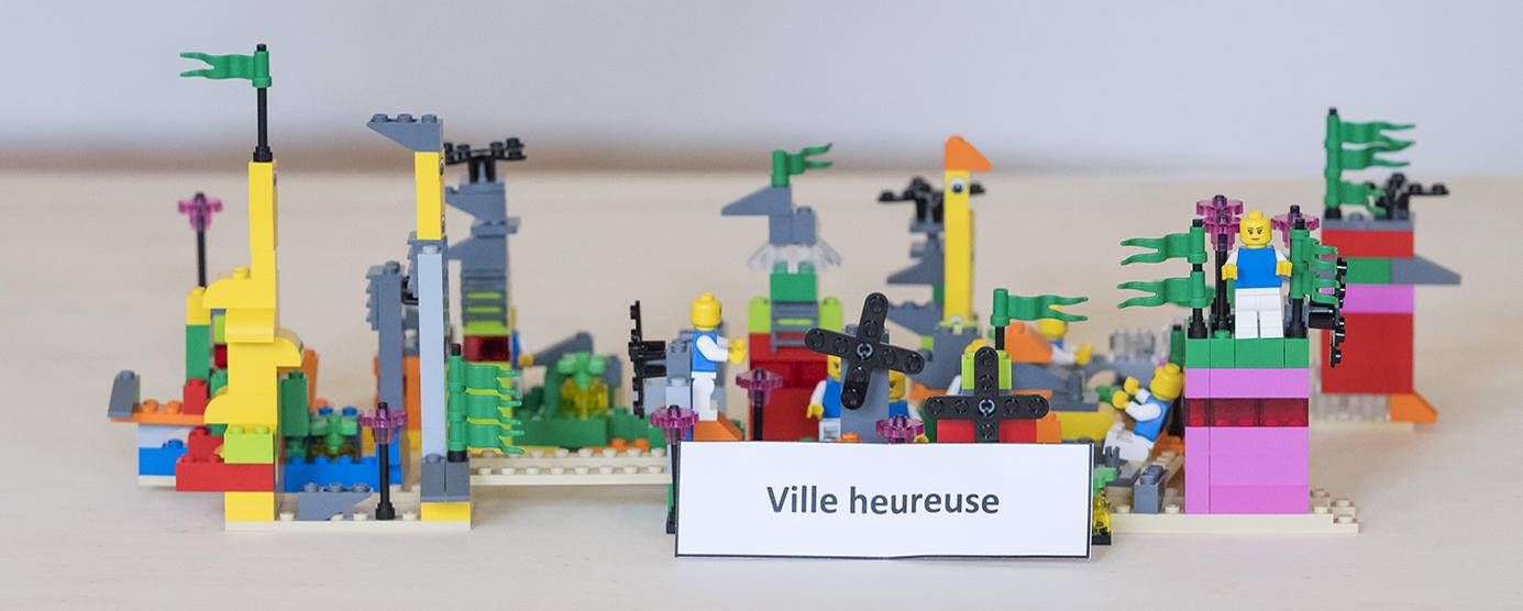 Construction en LEGOS - Séminaire EPAMARNE/EPAFRANCE, à Noisiel