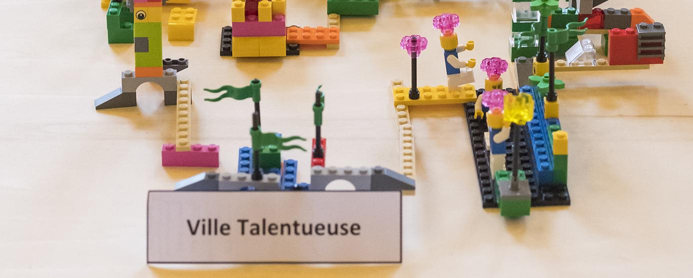 LEGOS issus du séminaire d'entreprise EPMARNE/EPAFRANCE, à Noisiel