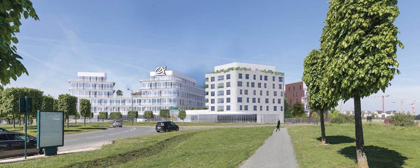 Immeuble de bureaux à Chessy - Val d'Europe