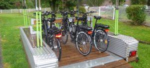 Station de vélo électrique ViaChamps Descartes 21