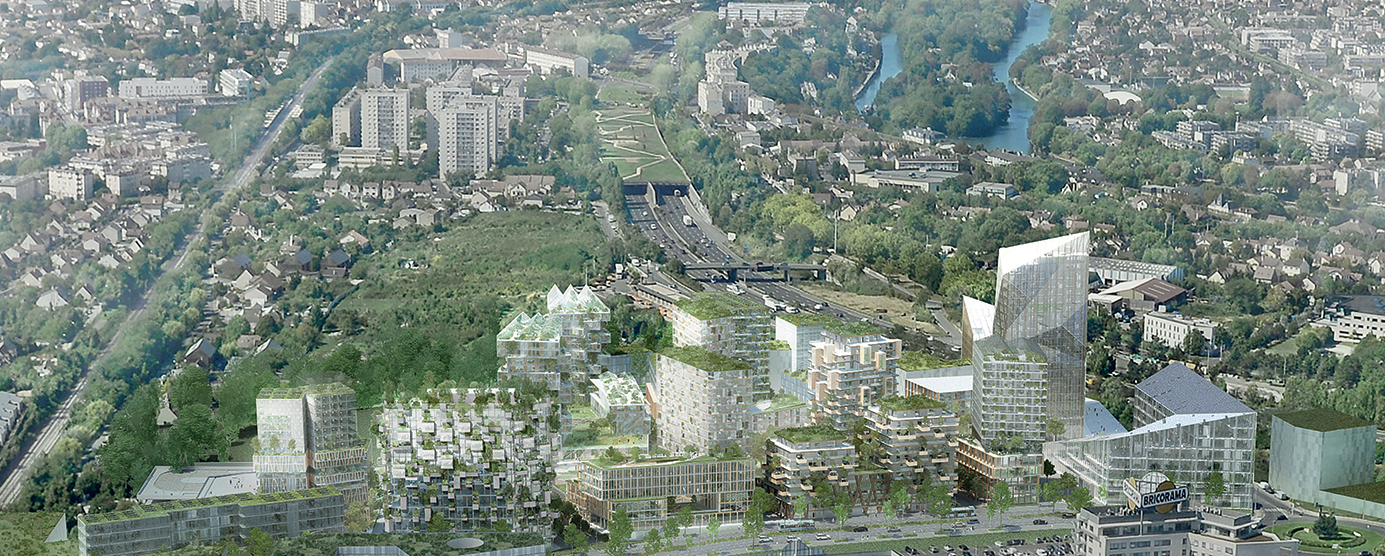 Nouveau quartier Marne-Europe