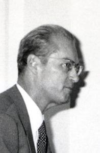 Portrait de Pierre Carle, 1er Directeur Général EPAMARNE/EPAFRANCE