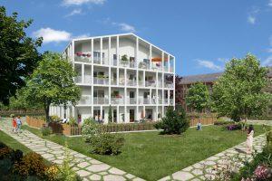 Futur programme de logements Open Square (LOTS G6 - G8), dans l'écoquartier de Montévrain