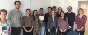 Photographie de groupe à la Cité Descartes : les étudiants en urbanisme planchent sur la santé avec EPAMARNE et l'ARS