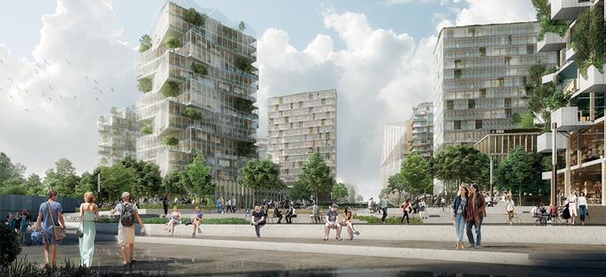 Coeur du jardin métropolitain Balcon sur Paris (abords de la future Gare de Bry - Villiers - Champigny