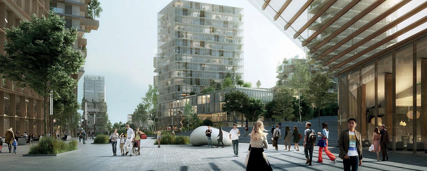 Jardin métropolitain de Marne Europe Balcon sur Paris (abords de la future Gare de Bry - Villiers - Champigny) :