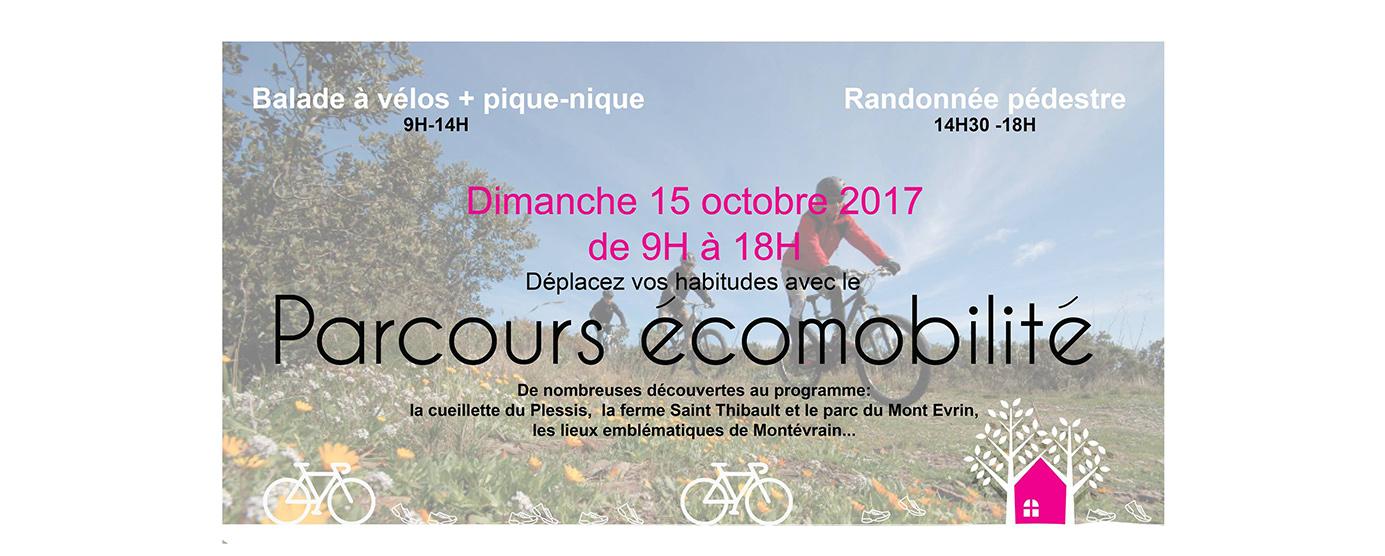 Invitation Visite de l'ecoquartier de Montévrain en vélo dimanche 15 octobre 2017