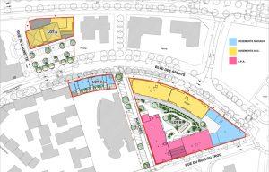 Plan de la ZAC Bailly-Romainvilliers