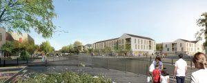 Modélisation de futurs logements à Chanteloup-en-Brie