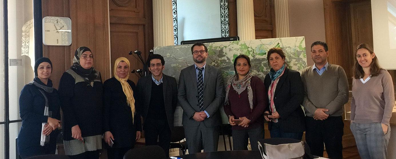 Marne-la-Vallée accueille une délégation tunisienne, au siège social d'EPAMARNE/EPAFRANCE, à Noisiel