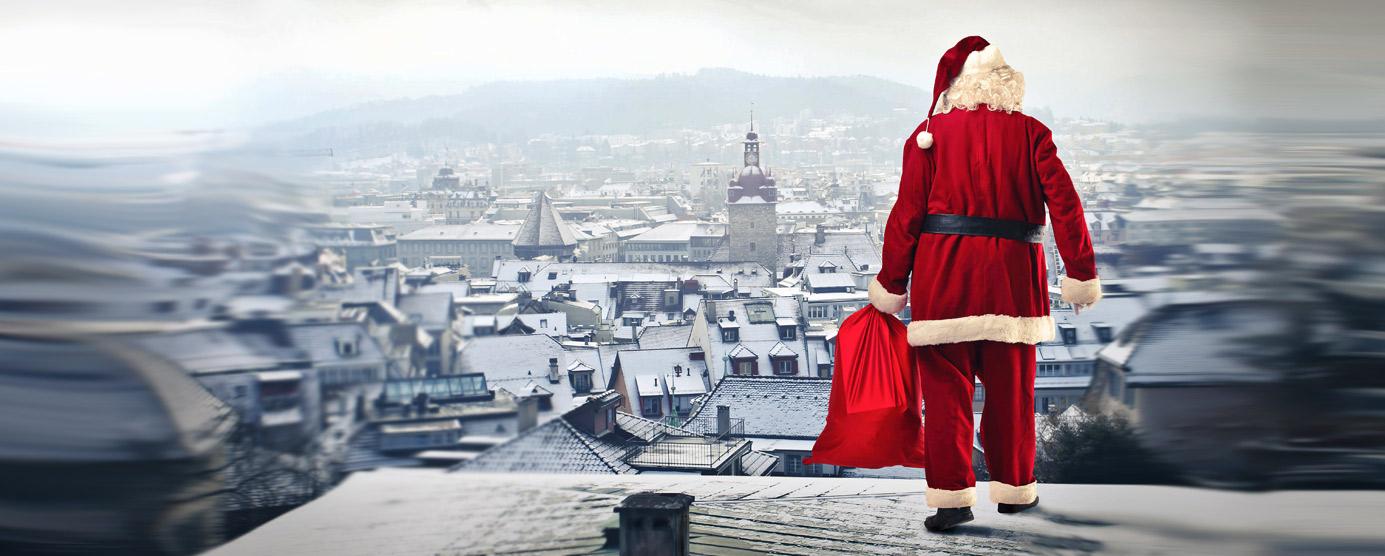 Père Noel d'EPAMARNE/EPAFRANCE à Noisiel
