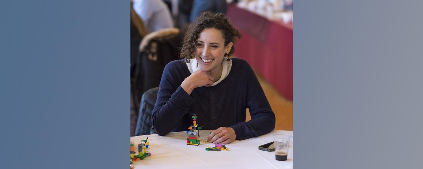 Portrait d'Alice BIROLO durant le séminaire LEGOS EPAMARNE, à Noisiel