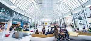 Hall de la galerie marchande du Val d'Europe