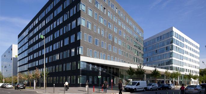 Immeuble de bureaux copernic 2 noisy le grand for Immeuble camembert noisy le grand