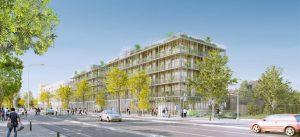 Modélisation d'un des logements de l'écoquartier Le Sycomore : Habiter autrement