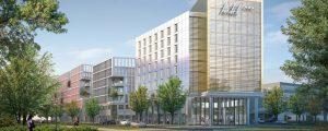 Avant-projet : programme Delta (lot H) à la Cité Descartes : futur immeuble de 25 000m² de bureaux et 5 000m² d'hôtel (HQE - BREEAM VERY GOOD RT 2012 -30%)