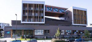 Photographie du siège social du laboratoire de FCBA, à Champs-sur-Marne