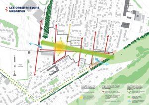 plan des orientations urbaines pour le projet de La Plaine des Cantoux, à Ormesson-sur-Marne