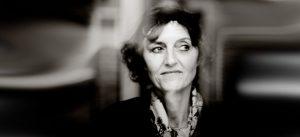 Portrait en noir et blanc de Florence Mercier, paysagiste de l'écoquartier Le Sycomore