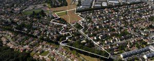 Vue aérienne de la plaine des cantoux - Chennevières - Ormesson-sur-Marne