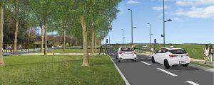 Les futurs travaux aux abords de la gare routière de Chessy