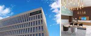 Les nouveaux locaux de la CASDEN Banque Populaire à la Cité Descartes