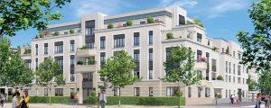 Inauguration du programme de logements Le Majestic à Chessy, à proximité de la gare RER et du centre urbain du Val d'Europe