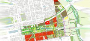 Plan de la ZAC du Sycomore à Bussy Saint-Georges