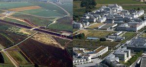 Avant/Après : Centre urbain du Val d'Europe à Chessy