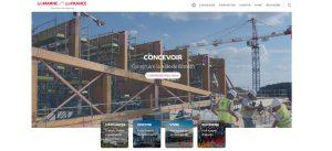 Capture d'écran de la page d'accueil du site Web Epamarne/Epafrance
