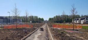 EPAMARNE réalise le réaménagement paysager de l'allée de l'Impératrice Eugénie à Ferrières-en-Brie afin de la transformer en promenade plantée