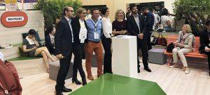 Présentation de Descartes 21 pendant VivaTech à Porte de Versailles le 24 mai 2018