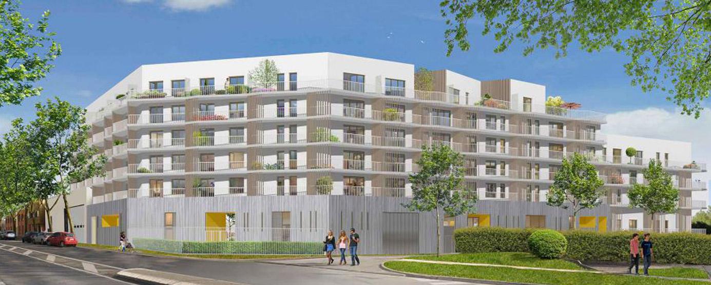 Implantés dans le quartier du Luzard à Noisiel, ce sont près de 120 logements - 99 logements en accession à la propriété et 20 logements locatifs sociaux - qui sont en cours de construction pour une livraison attendue fin 2019.